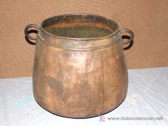 Olla marmita de cobre comprar utensilios del hogar for Utensilios de hogar