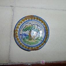 Antigüedades: PRECIOSO POSAVASOS DE TRIANA PRINCIPIOS DE SIGLO XX. Lote 26927945