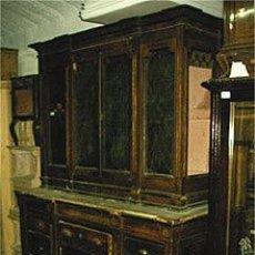 Antigüedades: APARADOR, VITRINA, CAJONERA. MEDIDAS 206X167X066 CM. Lote 22305734