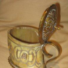 Antigüedades: ANTIGUA JARRA DE ASTA (ARTE PASTORIL). Lote 36524873