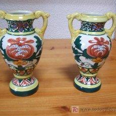 Antigüedades - Jarroncitos modernistas de Manises - 13921116