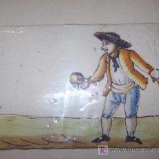 Antigüedades: AZULEJO VALENCIANO SIGLO XVIII. Lote 26002597
