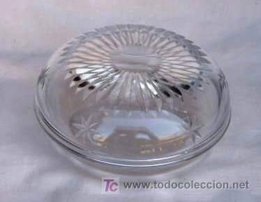 BOMBONERA DE CRISTAL DE BOHEMIA (Antigüedades - Cristal y Vidrio - Bohemia)