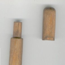 Antigüedades: ALFILITERO DE MADERA ANTIGUO. Lote 26985647