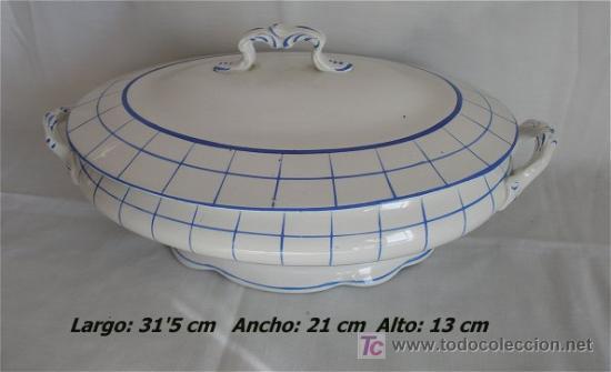 PRECIOSA SOPERA ANTIGUA SAN JUAN DE AZNALFARACHE SEVILLA (Antigüedades - Porcelanas y Cerámicas - San Juan de Aznalfarache)
