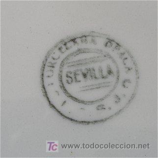 Antigüedades: PRECIOSA SOPERA ANTIGUA SAN JUAN DE AZNALFARACHE SEVILLA - Foto 3 - 26641804