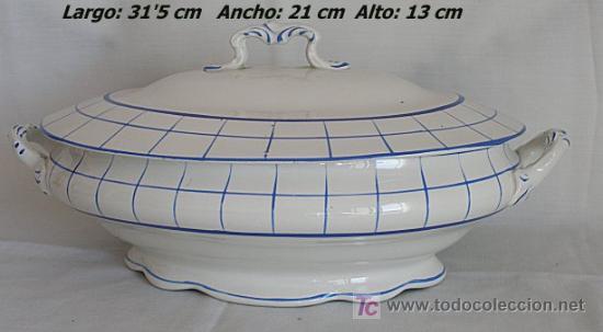 Antigüedades: PRECIOSA SOPERA ANTIGUA SAN JUAN DE AZNALFARACHE SEVILLA - Foto 5 - 26641804