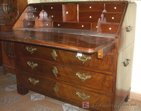 Extraordinario canterano de barco dos piezas comprar for Muebles escritorios clasicos