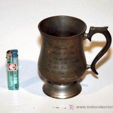 Antigüedades: VASO CONMEMORATIVO. Lote 27584331