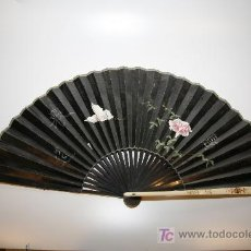 Antigüedades: ABANICO PINTADO A MANO. Lote 26823986