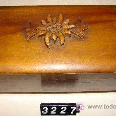 Antigüedades - CAJITA DE MADERA MUSICAL - 7842435