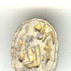 Antigüedades: ESCARABEO EGIPTO II PERIODO INTERMEDIO (1785-1552 A.C.). LONGITUD: 17 MM. PROCEDENCIA SUBASTAS HIRSC. Lote 22458229