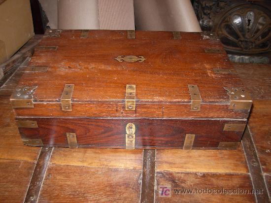 Baul escritorio de viaje de barco comprar - Antiguedades de barcos ...