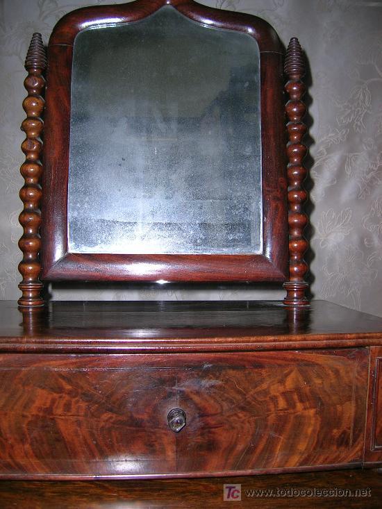 PEQUEÑA COKETA DE CHICARANDA S-XIX (Antigüedades - Muebles Antiguos - Repisas Antiguas)