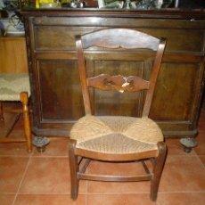 Antigüedades: SILLA DE COSTURA DE ANEA. Lote 27254229