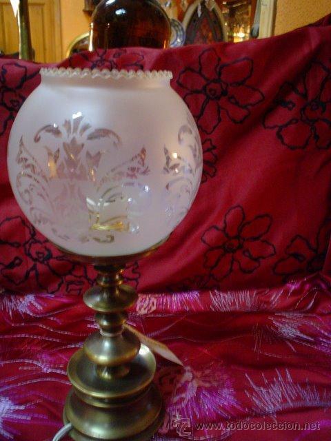 LAMPARA DE MESITA (Antigüedades - Iluminación - Lámparas Antiguas)