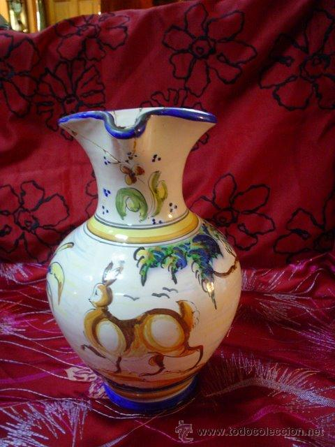 JARRA ANTIGUA (Antigüedades - Porcelanas y Cerámicas - Talavera)