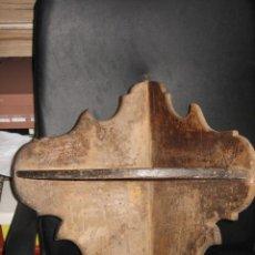 Antigüedades: ANTIGUA ESQUINERA EN PINO NECESITA RESTAURACION . Lote 8958140