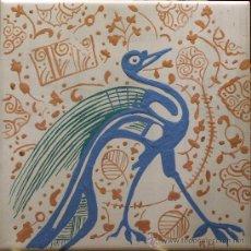Antigüedades: SOCARRAT VALENCIANO. PAVO REAL.. Lote 8285971