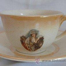 Antigüedades - TAZA Y PLATILLO DE CAFE SAN JUAN ANTIGUA - 20304163