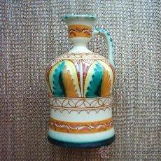 Antigüedades: ALCUZA DE CERÁMICA DE PUENTE DEL ARZOBISPO. 25 X 13,5 CM. MARCAS EN LA BASE.. Lote 26737994