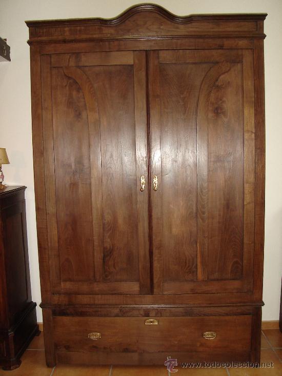 Impresionante armario de casta o antiguo comprar - Armario antiguo segunda mano ...