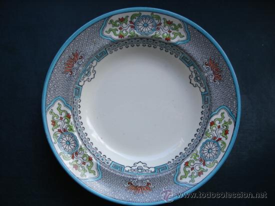 SPODE,COPELAND SPODE,1955,21,5 CM,PLATO HONDO (Antigüedades - Porcelanas y Cerámicas - Inglesa, Bristol y Otros)