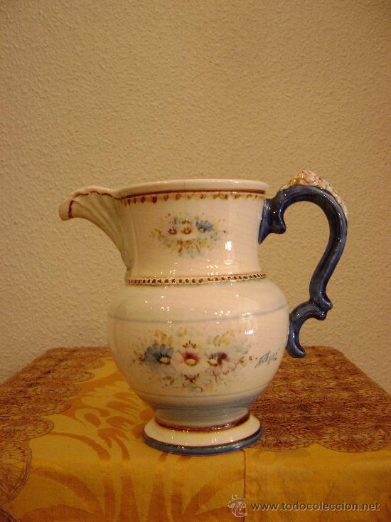 JARRA DE PICO DE ANTONIO PEYRO MEZQUITA (Antigüedades - Porcelanas y Cerámicas - Otras)