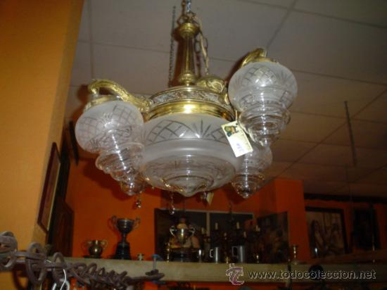ANTIGUA LAMPARA (Antigüedades - Iluminación - Lámparas Antiguas)