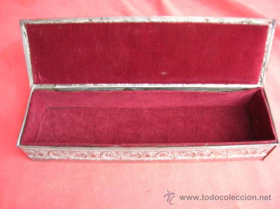 Antigüedades: Estuche joyero - Foto 3 - 25126297