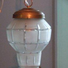 Antigüedades: LAMPARA , UNA LUZ. Lote 25640822