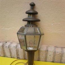 Antigüedades: FAROL DE COBRE. Lote 8607176