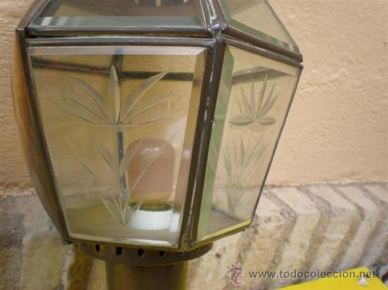 Antigüedades: farol de cobre - Foto 2 - 8607176