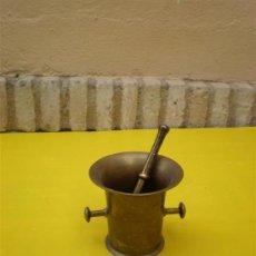 Antigüedades: MORTERO BRONCE 2 ASAS. Lote 8607289