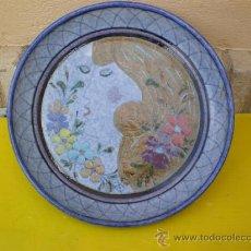 Antigüedades: PLATO DE BARRO PORTUGES. Lote 8633953