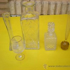 Antigüedades: LOTE DE CRISTAL. Lote 8634131