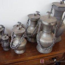 Antigüedades: JARRAS ALEMANAS ESTAÑO. Lote 24678708