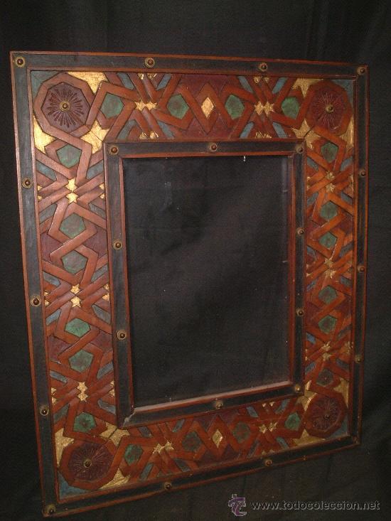 Marco para espejo 1890 1910 labrad comprar - Espejos antiguos de pared ...