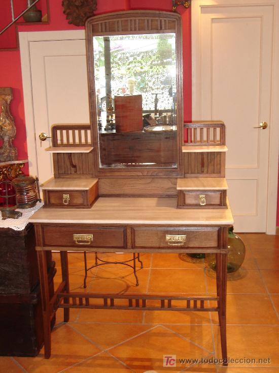 MUEBLE TOCADOR (Antigüedades   Muebles Antiguos   Veladores Antiguos)