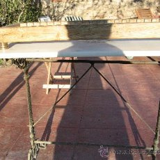 Antigüedades: PLATERO ENCIMERO CON PIES EN BRONCE. Lote 8783849
