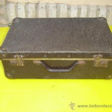 Antigüedades: MALETA EN CARTON PIEDRA. Lote 8794399