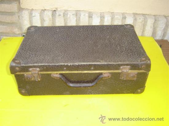 Antigüedades: maleta en carton piedra - Foto 3 - 8794399