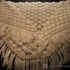 Antigüedades: ANTIGUO MANTON / CHAL DE LANA. Lote 27547639