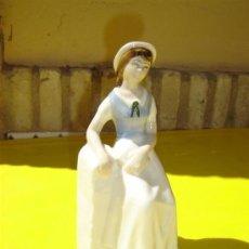 Antigüedades: FIGURA MUJER. Lote 8870275