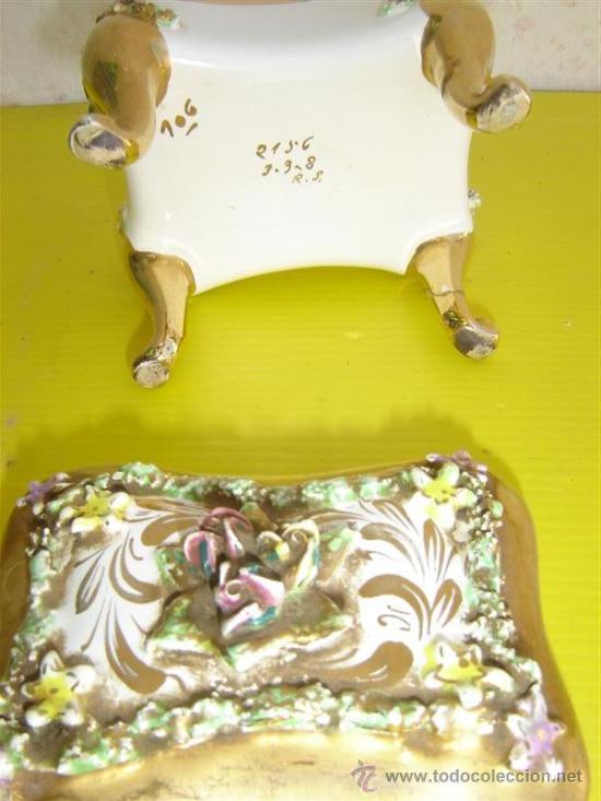 Antigüedades: joyero de porcelana - Foto 3 - 8901582