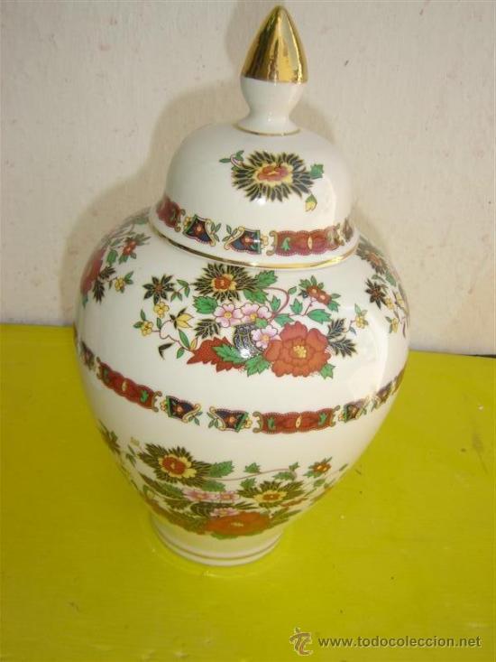 JARRON PORCELANA (Antigüedades - Porcelanas y Cerámicas - Otras)