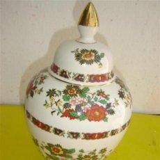 Antigüedades: JARRON PORCELANA. Lote 8901807