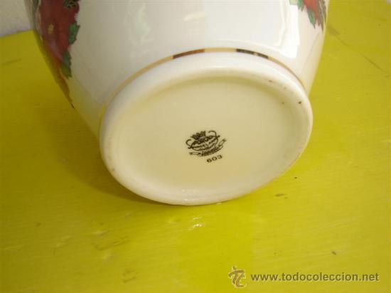 Antigüedades: jarron porcelana - Foto 2 - 8901807