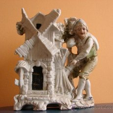 Antigüedades: FIGURA ANTIGUA DE BISCUIT.SIGLO XIX. Lote 26795854