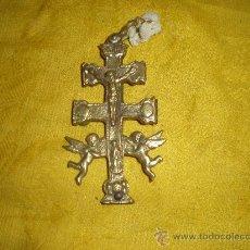 Antigüedades: CRUZ DE BRONCE. Lote 8950336